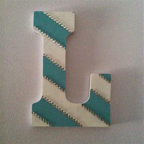 Gift Ideas Letter H diy monogram letter great gift idea