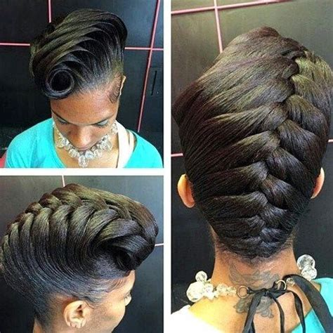 simple hairstyles for relaxed hair best 25 relaxed hairstyles ideas on pinterest relaxed
