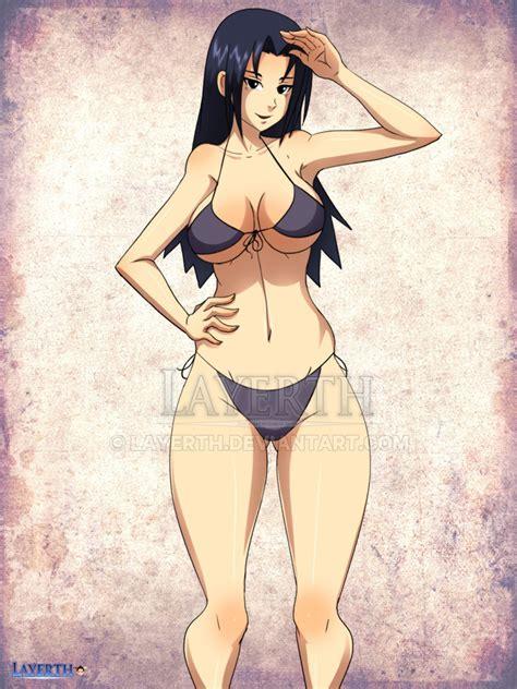 Mikoto Uchiha Bikini By Layerth On Deviantart