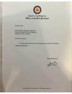 epic resignation letters here is pnoys epic reply to vp binays one liner