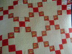 arsenal quilt arsenal nine patch quilt quilts pinterest quilt and