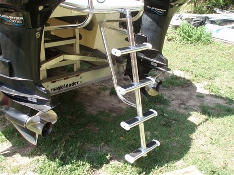 boat ladder diy what kind of ladder do you have the hull truth