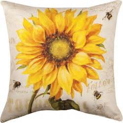 decorative pillows provencal sunflower pillow 18