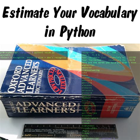 is pi a scrabble word how to estimate your vocabulary using a python script and