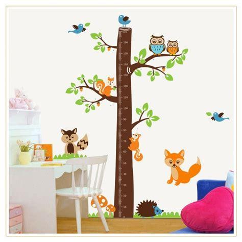 Wall Sticker Kerangka Cinta tree growth chart wall decal wall decals vinyl wall stickers by wallstickerscool au
