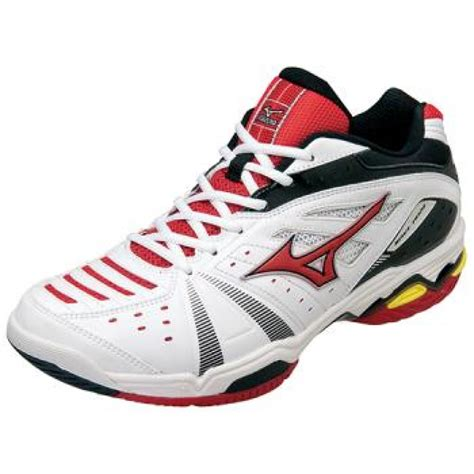 mizuno tennis shoes wave dual wide 4 6kd355 white x