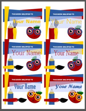 label templates for school books back to school labels by shy socialites worldlabel blog