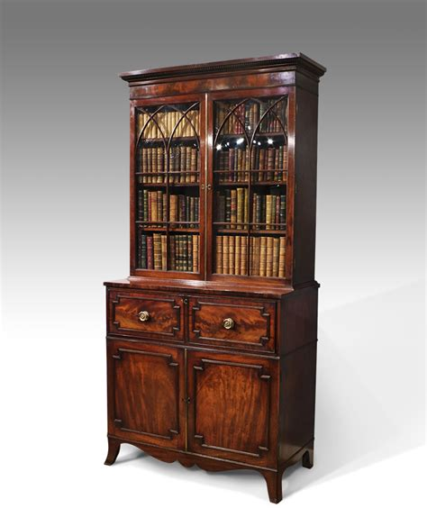 secr騁aire bureau antique secretaire secretaire bookcase georgian bookcase