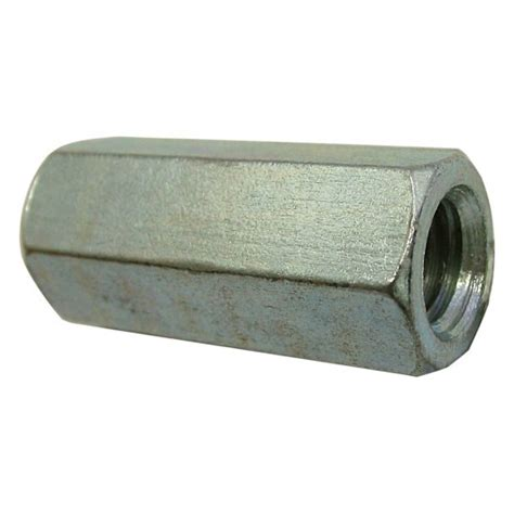 Maxpower Coupling Nut Wrench 1 1 2 quot 13 hex coupling nut fully threaded zinc plated unc h paulin co