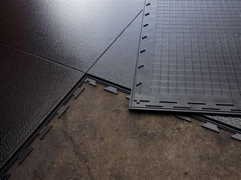 Tuff Seal photos: Interlocking vinyl floor tile