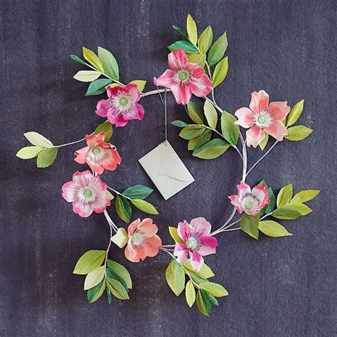 Flowers Using Paper - diy paper flowers a collection of ideas to try about