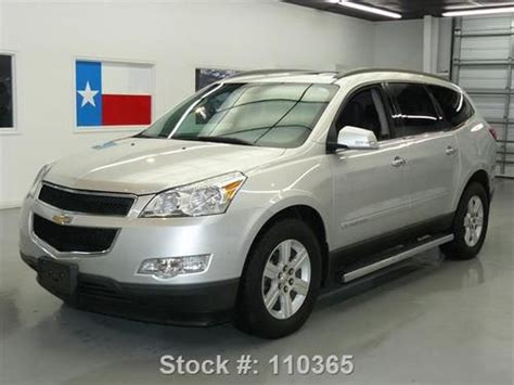 how cars engines work 2009 chevrolet traverse navigation system buy used 2009 chevy traverse lt2 awd 7 pass dual sunroof nav 38k texas direct auto in stafford