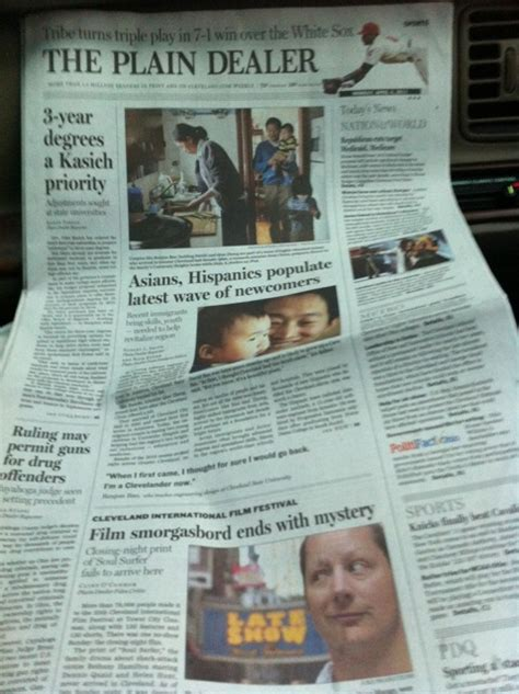 the plain dealer metro section cleveland plain dealer in the sunday paper of the