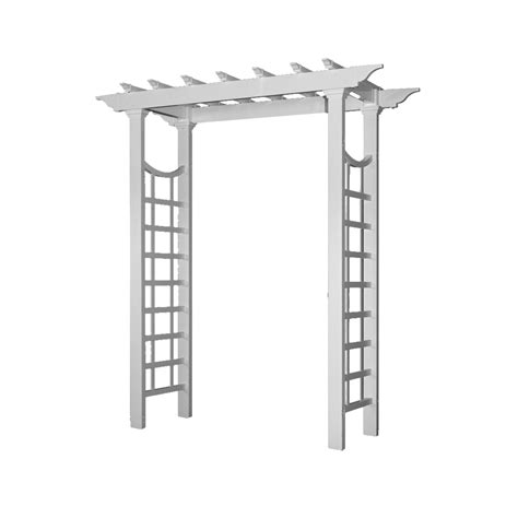 Wedding Arbor Dimensions by New Arbors Va68233 Westhaven Arbor White