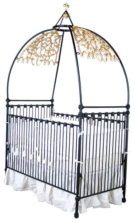 Crib With Canopy by Iron Canopy Crib
