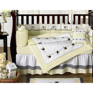 Sweet Jojo Designs Bumble Bee Collection 9pc Crib Bedding Set Bee Crib Bedding