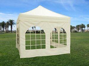 Canopy Sidewalls With Windows - 10x10 pop up canopy tent sidewall windows gazebo