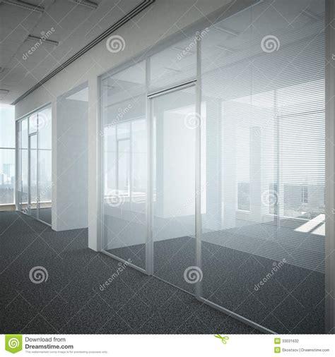 porte de bureau en verre verre de porte de couloir de bureau photographie stock