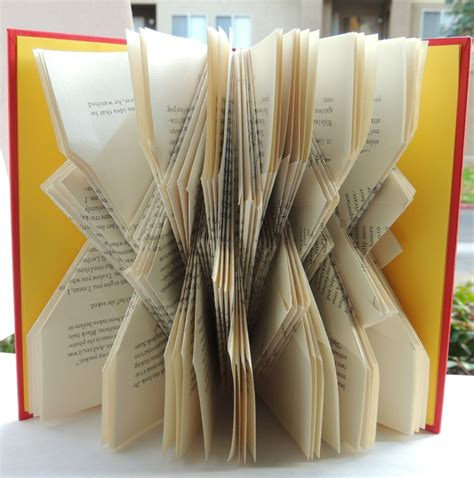 Book Origami Tutorial - 48 best images about book folding on pandora