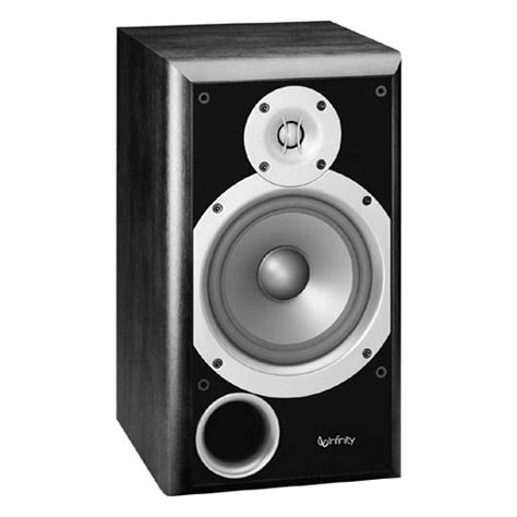 infinity p163bk 6 5 quot 2 way passive bookshelf speaker p163bk