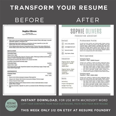 111 best resume templates etsy copy of resume to 111 best templates etsy images