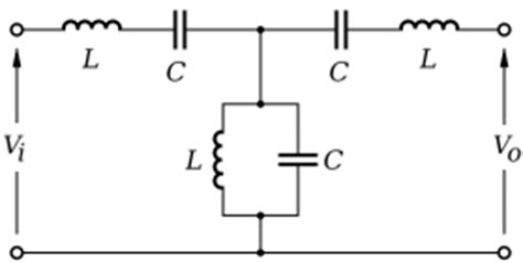 filter based on inductor replacement bandpass filter lcr bandpass filter