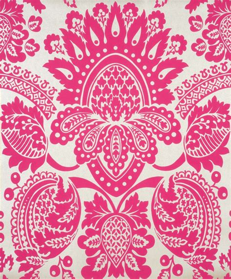wallpaper large red damask on metallic gold background ebay free pink and silver wallpaper wallpapersafari