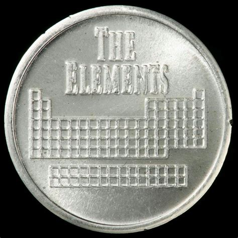 Silver Element element coin a sle of the element silver in the