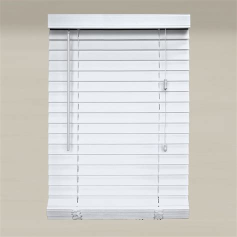 home decorators faux wood blinds home decorators collection 2 inch faux wood blinds 28