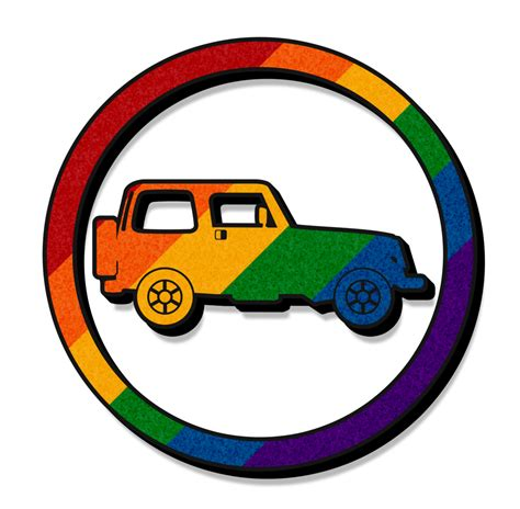 jeep icon rainbow jeep icon by lovemystarfire on deviantart