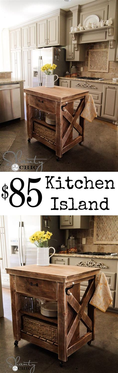 conrad kitchen island pottery barn home decor pinterest diy kitchen island inspired by pottery barn love this and