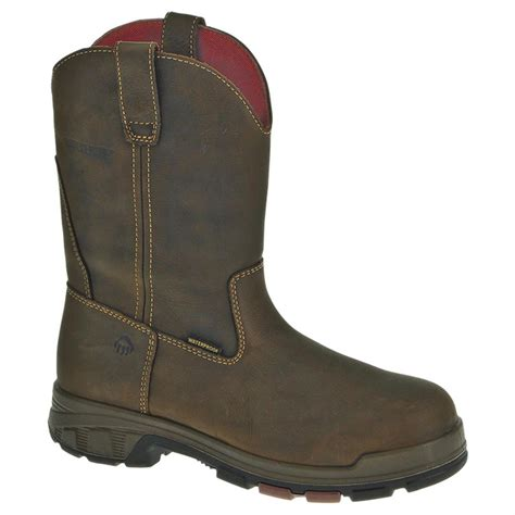 mens boots wellington s wolverine 174 10 quot cabor epx waterproof wellington work
