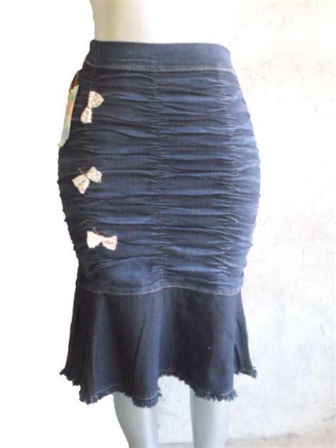 imagenes modelos de falda jean faldas jeans juveniles