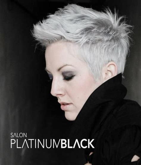 platinum gray hair color platinum grey grey outside the box i this