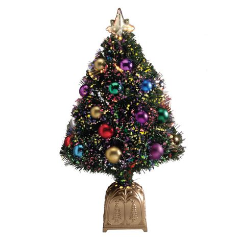 fiber optic christmas tree holidays gifts walter drake how