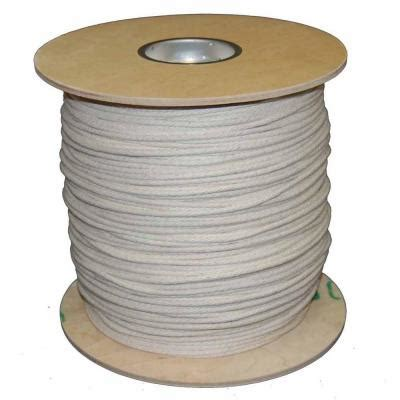 t w cordage 9 9 32 in x 1200 ft buffalo cotton