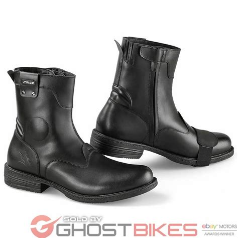 cruiser style motorcycle boots falco pepper 2 city waterproof leather motorcycle casual