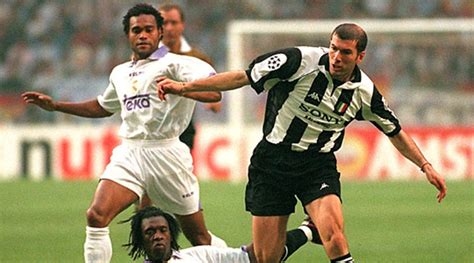 ronaldo juventus 1998 uefa chions league juventus vs real madrid rewinding the clock to 1998
