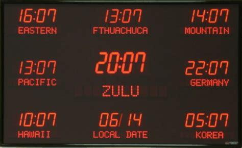 Lu Emergency Led Timezone digital time zone displays world clocks digital world