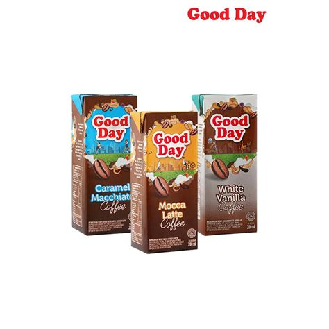 Kemasan Tetrapack Day Kopi Ready To Drink Tetra 200 Ml Pack Of 6 Elevenia