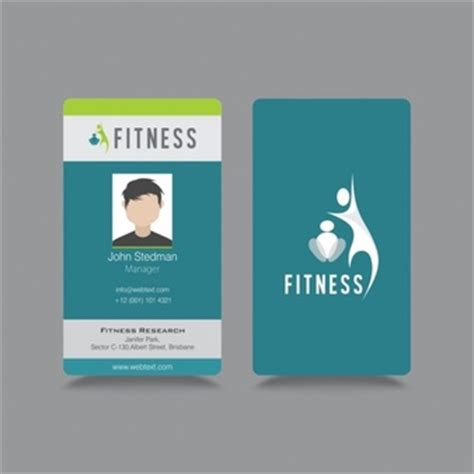 Id Cards Template Freepik by Identification Card Template Vector Free