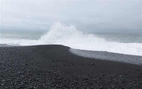 black sand black sands beach whitethorn ca california beaches