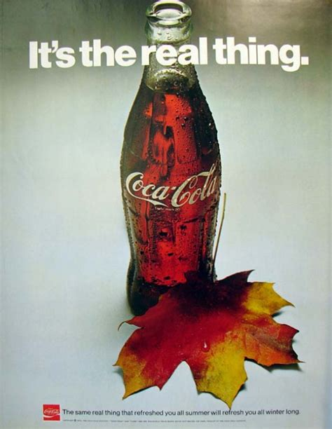 Coke Is The Real Thing For Andy by It S The Real Thing Coke 3 1971