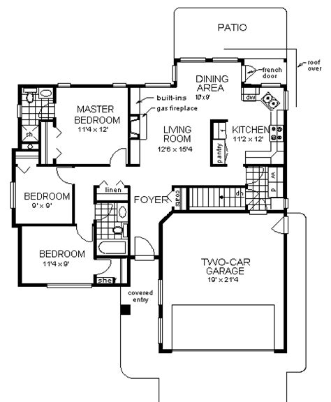 narrow lot florida house plan 21650dr 1st floor master house plans florida mediterranean modern home plans