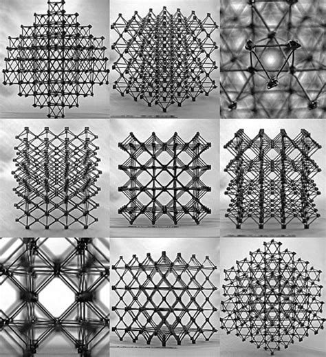 innovative materials how to make big things out of small pieces innovative lattice like composite materials created