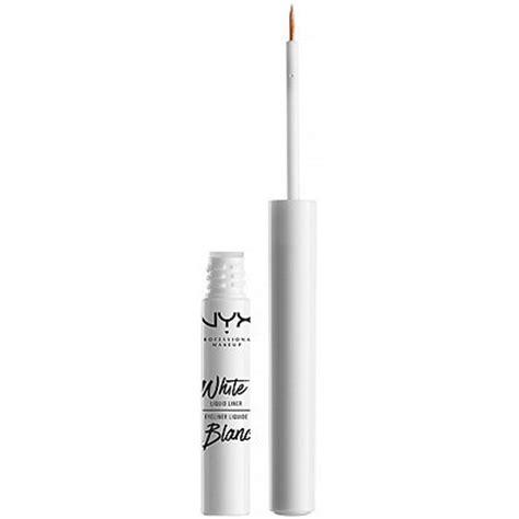Nyx White Eyeliner white liquid liner ulta