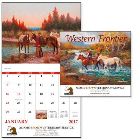 Western Calendar Western Themed Calendar With Imprint 4allpromos