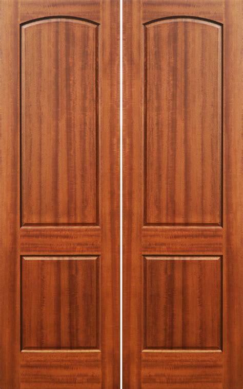 Wood Panel Doors Interior Interior Wood Doors Solid Mahogany 2 Panel Doors