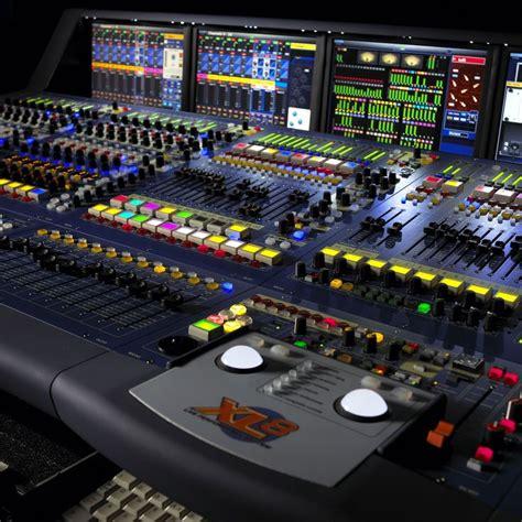 Mixer Audio Recording midas xl8 digital mixer live sound recording studios