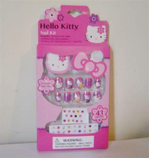 kitty press  nail kit  gemstones stickers